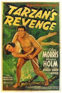 Tarzan's Revenge - 27 x 40 Movie Poster - Style A