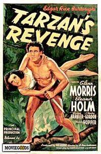 Tarzan's Revenge - 43 x 62 Movie Poster - Bus Shelter Style A