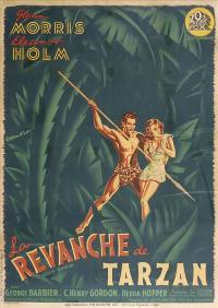 Tarzan's Revenge - 11 x 17 Movie Poster - French Style A