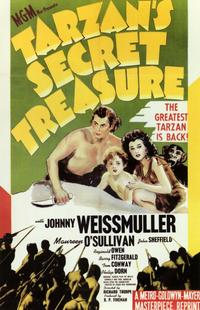Tarzan's Secret Treasure - 11 x 17 Movie Poster - Style A