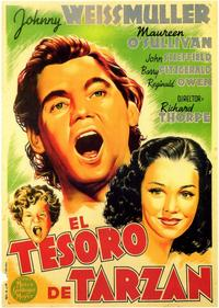 Tarzan's Secret Treasure - 11 x 17 Movie Poster - Spanish Style A