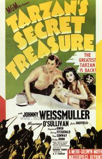 Tarzan's Secret Treasure - 27 x 40 Movie Poster - Style A