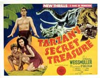 Tarzan's Secret Treasure - 11 x 14 Movie Poster - Style A