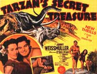 Tarzan's Secret Treasure - 11 x 14 Movie Poster - Style B