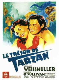 Tarzan's Secret Treasure - 11 x 17 Movie Poster - French Style A