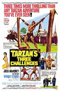 Tarzan's Three Challenges - 11 x 17 Movie Poster - Style A