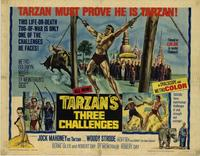 Tarzan's Three Challenges - 11 x 14 Movie Poster - Style A