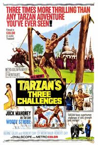 Tarzan's Three Challenges - 27 x 40 Movie Poster - Style A