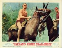 Tarzan's Three Challenges - 11 x 14 Movie Poster - Style B