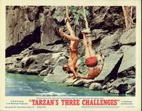 Tarzan's Three Challenges - 11 x 14 Movie Poster - Style C