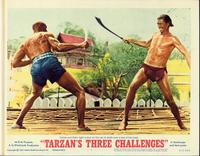 Tarzan's Three Challenges - 11 x 14 Movie Poster - Style D
