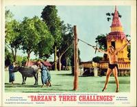 Tarzan's Three Challenges - 11 x 14 Movie Poster - Style E