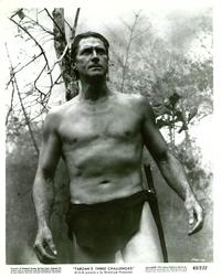 Tarzan's Three Challenges - 8 x 10 B&W Photo #4