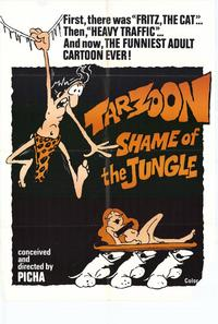 Tarzoon Shame of the Jungle - 11 x 17 Movie Poster - Style B