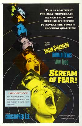 Taste of Fear - 11 x 17 Movie Poster - Style A