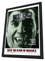 Taste the Blood of Dracula - 27 x 40 Movie Poster - Style A - in Deluxe Wood Frame