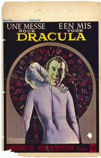 Taste the Blood of Dracula - 11 x 17 Movie Poster - Belgian Style A