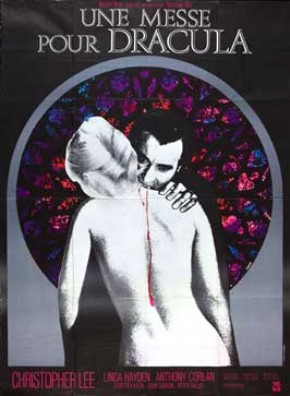 Taste the Blood of Dracula - 27 x 40 Movie Poster - French Style A