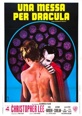 Taste the Blood of Dracula - 11 x 17 Movie Poster - Italian Style A