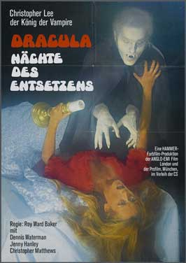 Taste the Blood of Dracula - 11 x 17 Movie Poster - German Style A