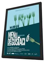 Tasting Menu - 11 x 17 Movie Poster - Spanish Style A - in Deluxe Wood Frame