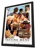 Tasting Menu - 11 x 17 Movie Poster - Style A - in Deluxe Wood Frame