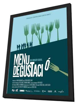 Tasting Menu - 27 x 40 Movie Poster - Spanish Style A - in Deluxe Wood Frame