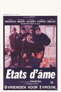 �tats d'�me - 11 x 17 Movie Poster - Belgian Style A