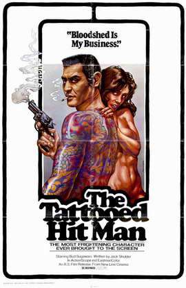 Tattooed Hit Man - 11 x 17 Movie Poster - Style A