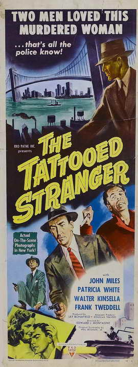 Tattooed Stranger - 11 x 17 Movie Poster - Style A