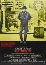 Taxi Driver - 27 x 40 Movie Poster - German Style A