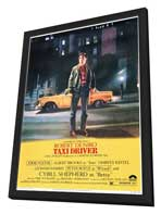 Taxi Driver - 11 x 17 Movie Poster - Style A - in Deluxe Wood Frame