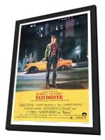 Taxi Driver - 27 x 40 Movie Poster - Style A - in Deluxe Wood Frame