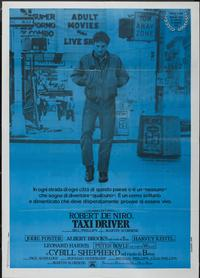 Taxi Driver - 11 x 17 Movie Poster - Italian Style C
