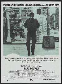 Taxi Driver - 27 x 40 Movie Poster - French Style A