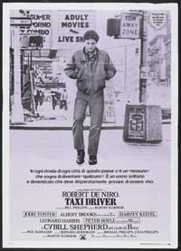 Taxi Driver - 11 x 17 Movie Poster - Italian Style A