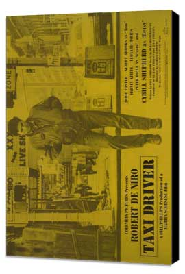 Taxi Driver - 30 x 40 Movie Poster - Style A - Museum Wrapped Canvas