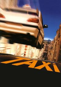 Taxi - 11 x 17 Movie Poster - French Style A