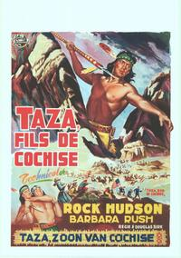 Taza, Son Of Cochise - 11 x 17 Movie Poster - Belgian Style A