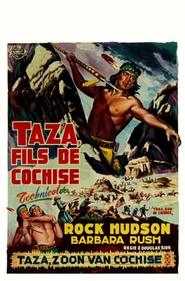 Taza, Son Of Cochise - 11 x 17 Movie Poster - Style A