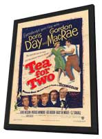 Tea for Two - 11 x 17 Movie Poster - Style A - in Deluxe Wood Frame