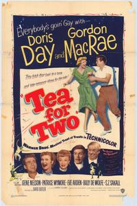 Tea for Two - 43 x 62 Movie Poster - Bus Shelter Style A