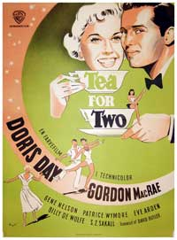 Tea for Two - 11 x 17 Movie Poster - Danish Style A