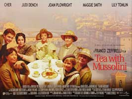Tea with Mussolini - 27 x 40 Movie Poster - UK Style A