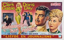 Teacher's Pet - 27 x 40 Movie Poster - Belgian Style A
