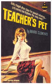 Teacher's Pet - 11 x 17 Retro Book Cover Poster