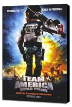 Team America: World Police - 27 x 40 Movie Poster - Style A - Museum Wrapped Canvas