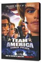 Team America: World Police - 27 x 40 Movie Poster - Style B - Museum Wrapped Canvas