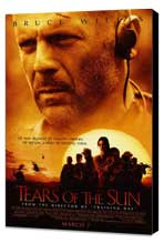 Tears Of The Sun - 27 x 40 Movie Poster - Style A - Museum Wrapped Canvas