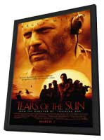Tears Of The Sun - 11 x 17 Movie Poster - Style A - in Deluxe Wood Frame